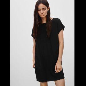 WILFRED FREE - Nori Dress, black suede